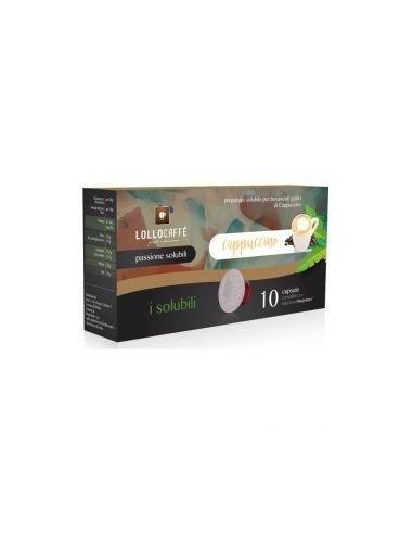 Compatibili 10 Capsule Nespresso Lollo Cappuccino