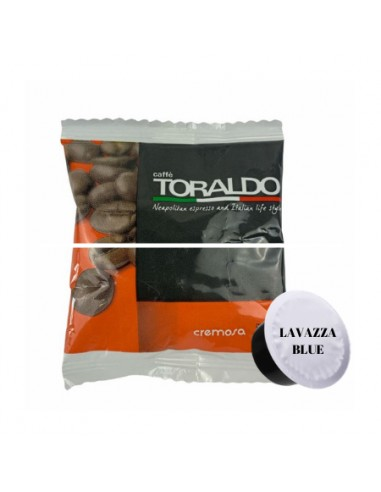 100 Capsule Lavazza Blue Toraldo Miscela Cremosa