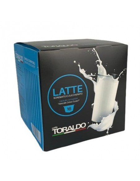 16 Capsule Nescafè Dolce Gusto Caffè Toraldo Latte
