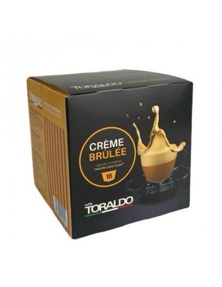 16 Capsule Nescafè Dolce Gusto Caffè Toraldo Creme Brule
