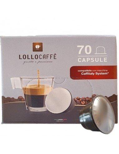 Compatibili 70 Capsule Caffitaly Lollo Miscela Decaffeinata