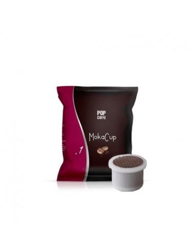 Compatibili 100 Capsule Uno System Pop Caffè Moka Cup One