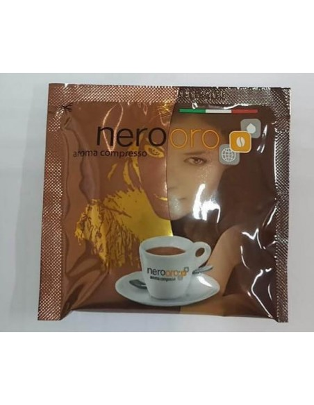 Compatibili 150 Cialde Carta Ese Caffè NeroOro miscela BRONZO