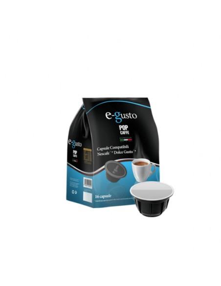 Compatibili 16 Capsule Nescafè Dolce Gusto Pop Caffè E-Gusto