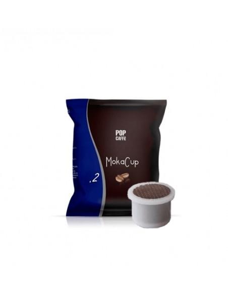 Compatibili 100 Capsule Domo-Maranello Pop Caffè Moka Cup One