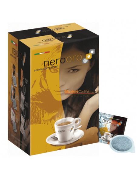 Compatibili 150 Cialde Carta Ese Caffè NeroOro miscela ARGENTO