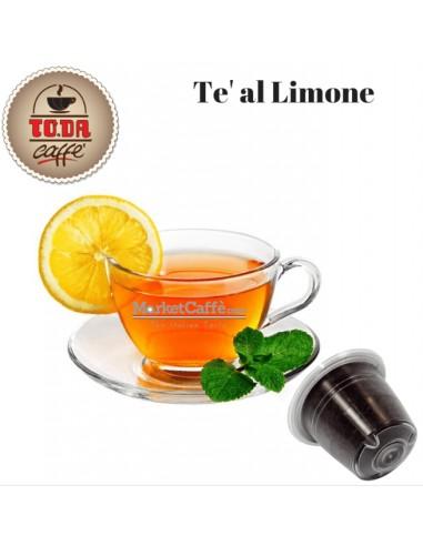 Compatibili Nespresso TO.DA Caffè Gattopardo Tè al Limone