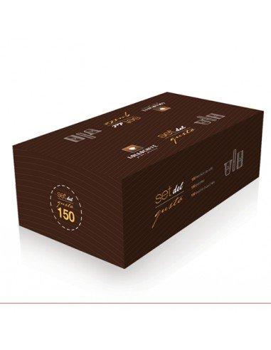 Compatibili 100 Bicchieri Palette e Zucchero Lollo Kit Completo