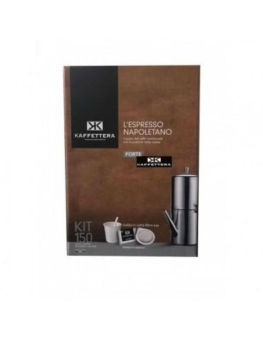 Compatibili 150 Cialde Carta Ese Kaffettera Espresso Napoletano