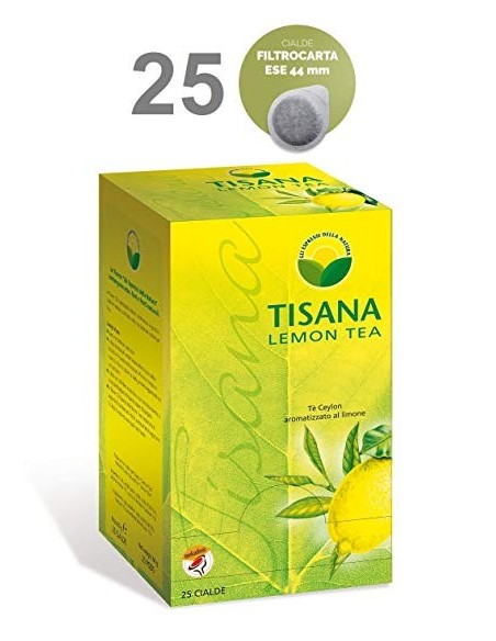 Cialde ESE 44mm Molinari Tè Ceylon Aromatizzato al Limone
