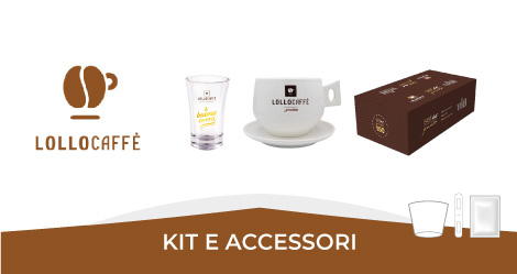 Lollo caffè Kit e accessori