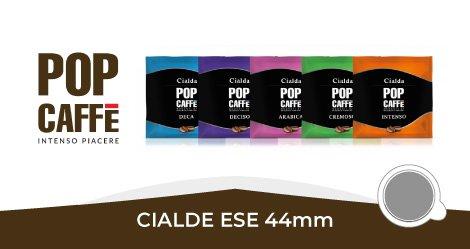 Pop caffè Cialde Ese 44