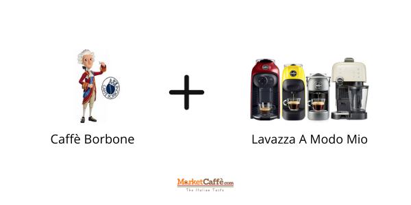 Capsule Borbone per Lavazza A Modo Mio, Compatibilità Perfetta!